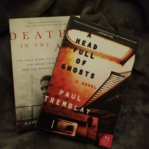 Other - A Head Full Of Ghosts and Death in the Air books